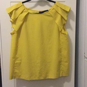 Zara yellow top size M